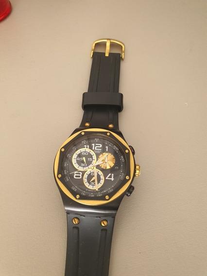 Relógio Masculino Swacth Irony Darkness Colecionador!único