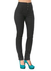 Calça Jeans Escuro Cintura Alta Frete Grátis