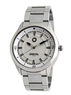 Reloj Pulsera Orbital Hombre Acero Ec367305 Garantía 2 Años