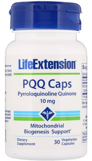 Pqq Caps (10mg) 30 Caps - Life Extension - Pronta Entrega -