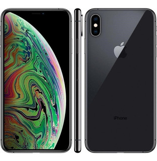 iPhone Xs Max 64gb Space Gray Lacrado Com Nota Fiscal