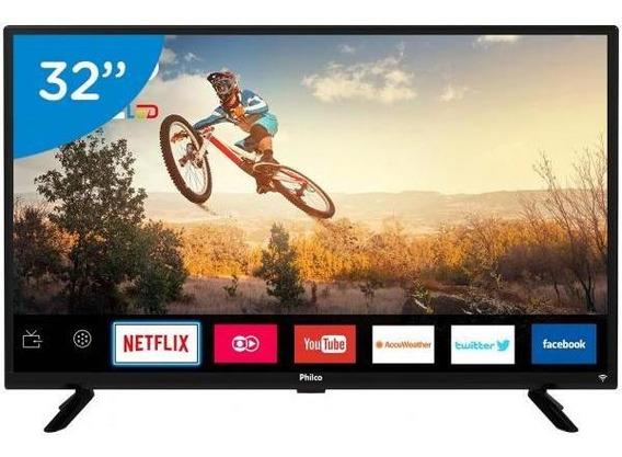 Smart Tv Led 32 Philco Ptv32g50sn-conversor Digital Wi-fi