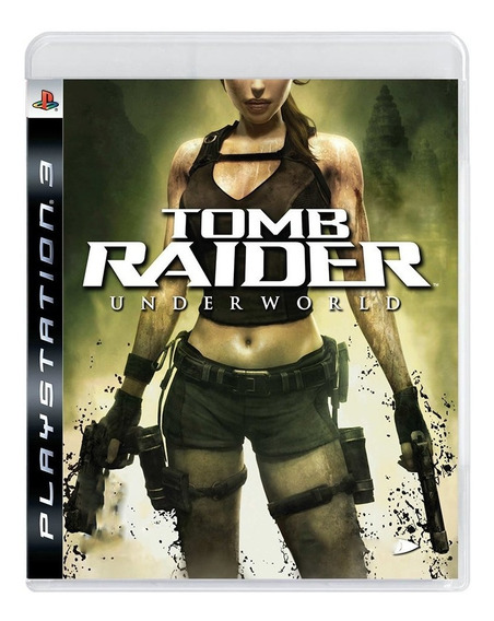 Game - Tomb Raider Underworld - Ps3