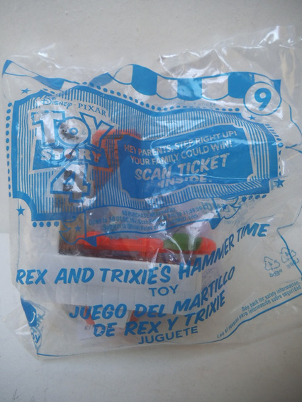 Juego Del Martillo De Rex Y Trixie Toy Story 4 Mcdonalds