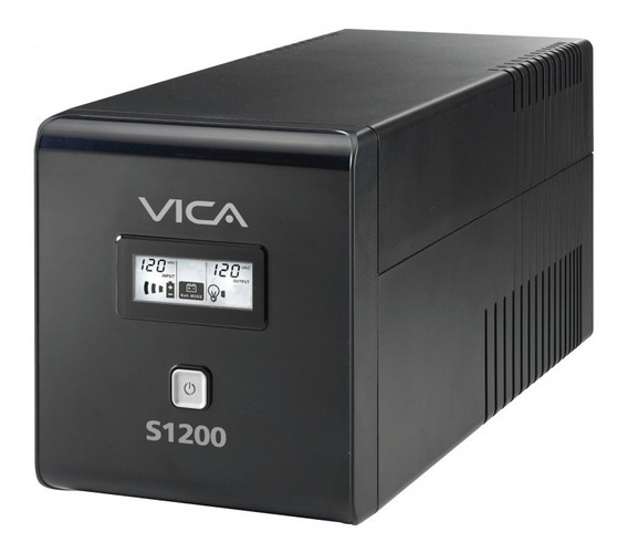 No Break Vica 1200va/600w 6 Contactos Con Respaldo Y Regulad