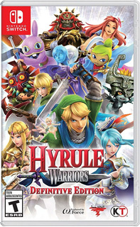 Hyrule Warriors Definitive Edition Nintendo Switch Delivery
