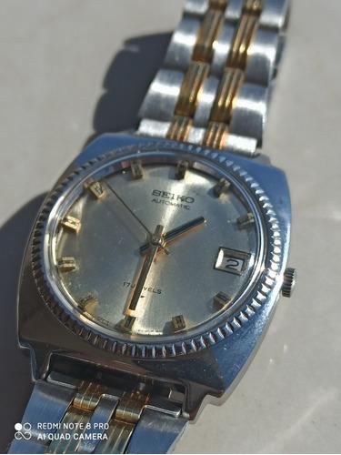 Espetacular Relógio Seiko 7005-8040 Fabricado Junho De 69