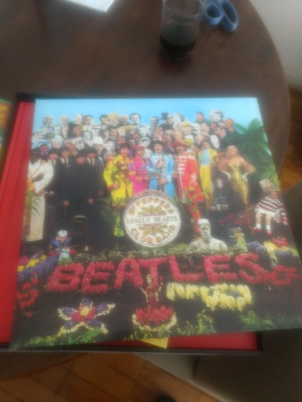 The Beatles - Sgt Peppers 50th 4 Cds+dvd+blu-ray+livro
