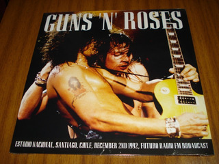 Vinilo Guns And Roses / Santiago Chile (nuevo Sellado) 2 Lp