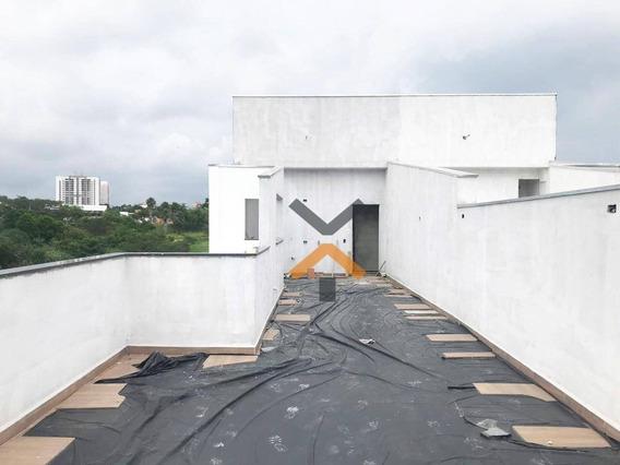 Cobertura Com 3 Dormitórios À Venda, 75 M² Por R$ 550.000 - Vila Eldízia - Santo André/sp - Co0024