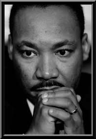 Quadro Decorativo Martin Luther King 42x29cm