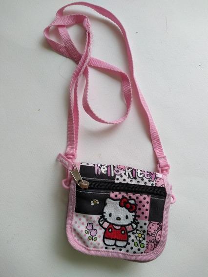 Bolsa Cartera De Bello Kitty Sanrio Original