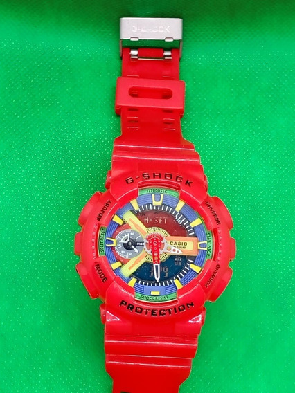 Reloj Bull G Wr20bar Red Pulsera Para Casio Shock Hombre Relojes ymN80PvnwO