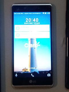 Celular LG K6 X Stylo Obs: (borda Tela Tricada)