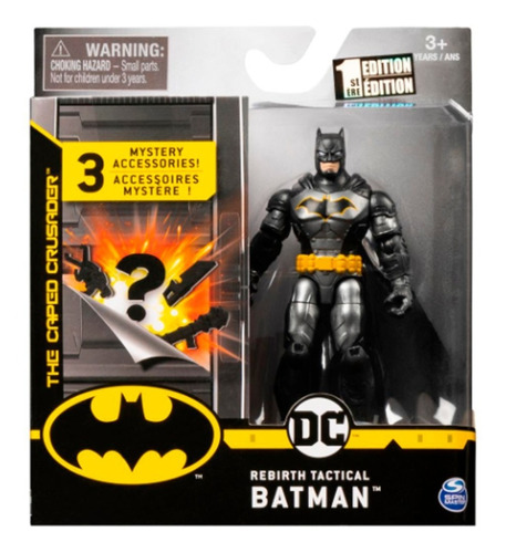 Imagen 1 de 2 de Figura Batman O Personajes - 10cm - 3 Accesorios Sorpresa