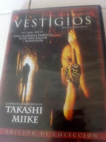 Imagen 1 de 3 de Dvd Vestigios De Takashi Miike