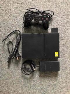 Playstation 2 Slim Original Impecable + 5 Juegos Originales