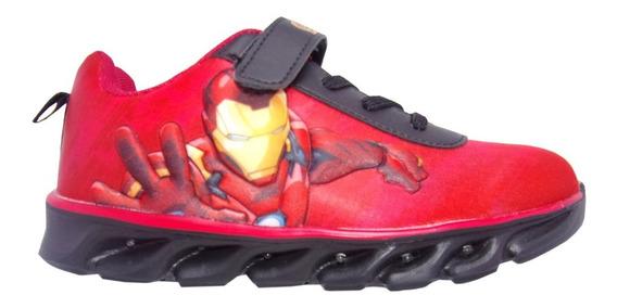 Zapatilla Iron Man Con Luz