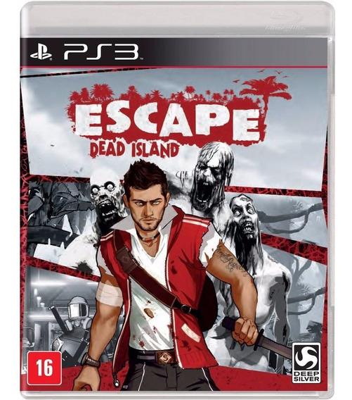 Escape Dead Island Ps3 Jogo Original Lacrado Mídia Física