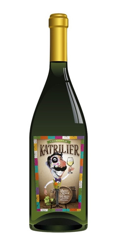 Vino Blanco Kit 12 Botellas Chardonnay Katrilier 750ml