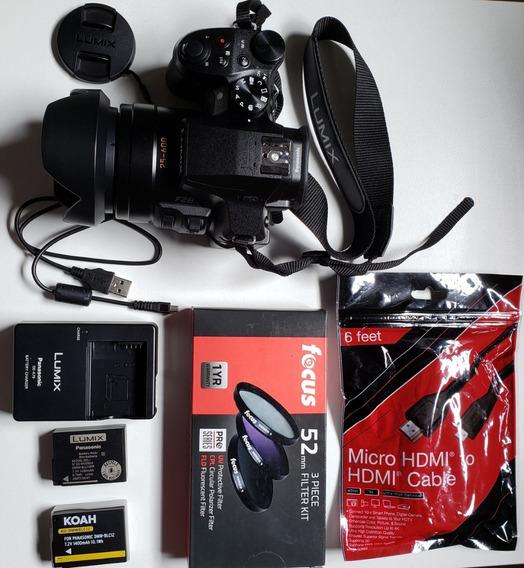 Câmera Panasonic Lumix Dmc-fz300 4k + Acessórios Semi Nova