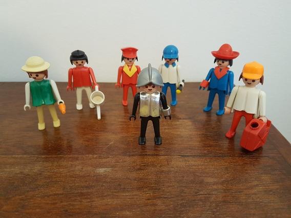 Lote Com Sete Bonecos Playmobil Da Trol