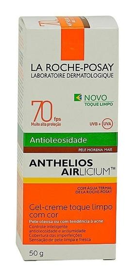 Anthelios P.solar Fps70 Antioleosidade Morena Mais Original