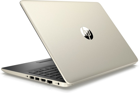 Laptop Hp Intel I3 4gb Ram Disco Ssd 128gb Win 10 Hd W Led