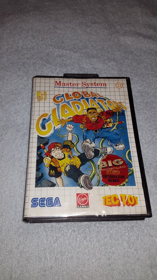 Jogo Global Gladiators Master System