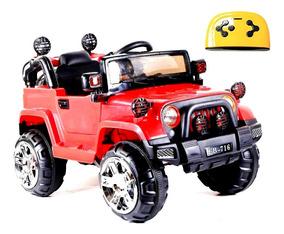 Mini Jipe Elétrico 3x1 Veículo C. Remoto Mp3 Luz 12v Glee S8