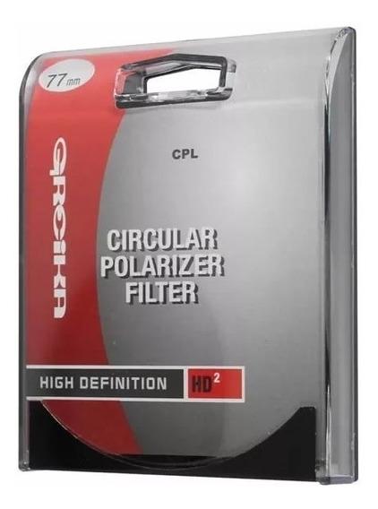Filtro Polarizador Circular 77mm - Greika