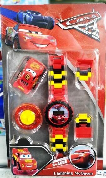 Relógio Infantil Pulseira Personagem Carros Lego