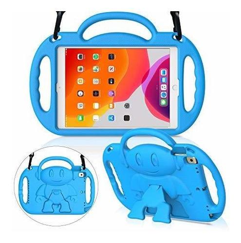 Imagen 1 de 8 de Menzo Estuche Para Niños Para El Nuevo iPad 10.2  Septima G