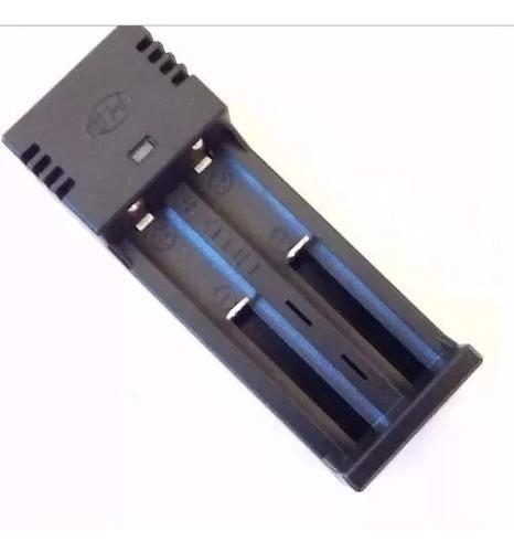 Imagem 1 de 3 de Kit Carregador Duplo +2 Baterias Jws Jyx  18650 8800mah 3.7v