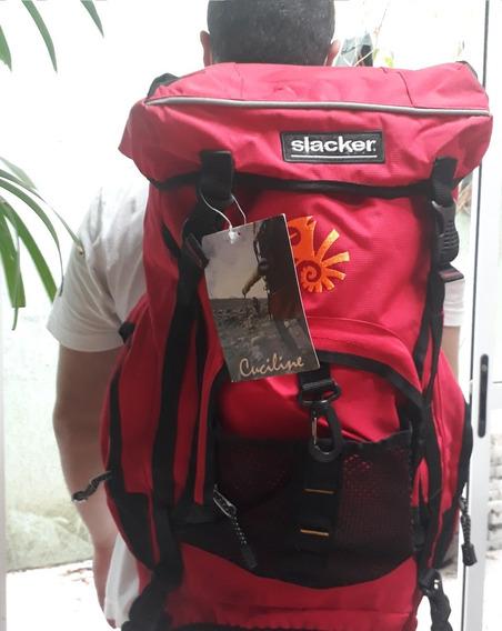 Mochila Alpinismo Camping 30 Litros Cuciline Slacker Top
