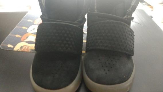 Zapatillas adidas Talle 22 Importadas Gamuza Negras