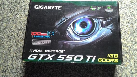 Gtx 550ti Roda O Cooler Mas Não Dar Imagem