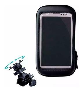 Soporte Celular Para Moto O Bicicleta + Funda Impermeable