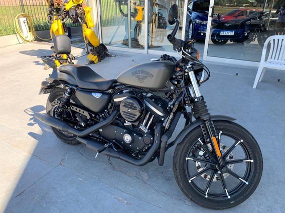 Harley Davidson Xl883n Iron 883 Con Accesorios