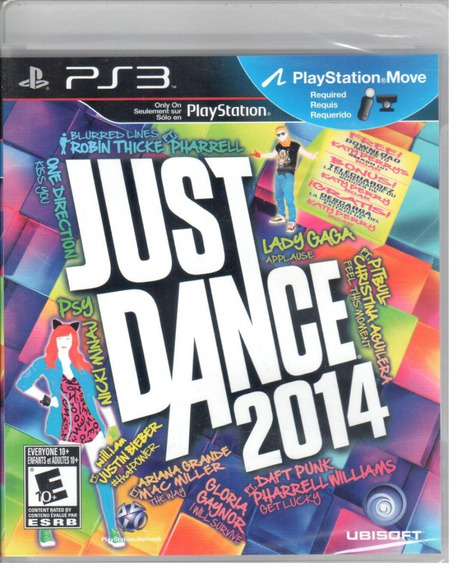 Just Dance 2014 Ps3 Original Mídia Física Lacrado