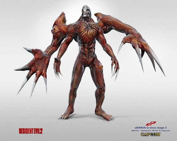 Archivos Stl De Impresión 3d - G-virus Resident Evil