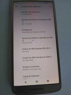 Celular Motorola G6 Play Dual Sim