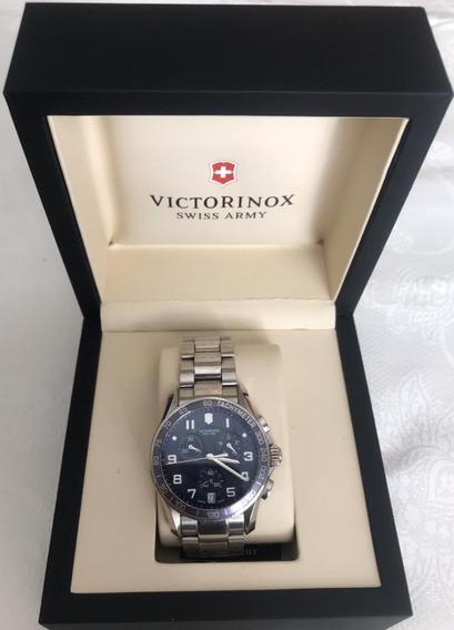 Relógio Victorinox 241652 Xls Classic Cronógrafo Masculino