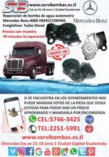 Reparación De Bombas De Agua Automotrices Mercedes 460 Guate