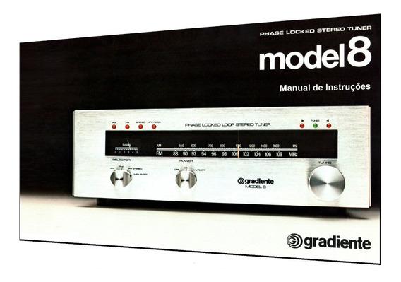 Manual Do Sintonizador Gradiente Model 8 (cópia Colorida)