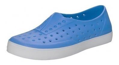 Zapatillas De Goma Hombre Mujer Humms Zumba Azul Brillante