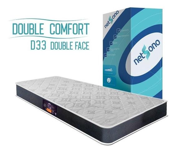 Colchão Netsono Na Caixa Solteiro Double Comfort D33 88x188