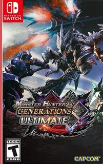 Monster Hunter Generation Ultimate Nintendo Switch