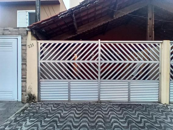 Casa 3 Dormitórios- Guilhermina- 200 Metros Praia- Amf02