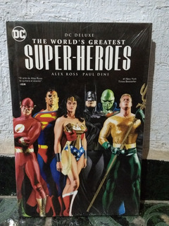 Dc Comics Deluxe The Worlds Greatest Super Heroes